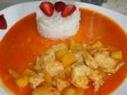 Huhn: Hähnchenbrustfilets auf indonesische Art - Rezept