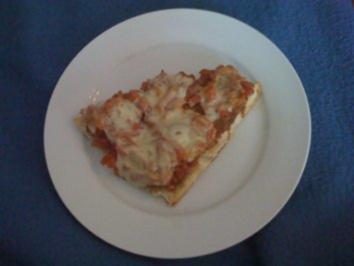 B: Tomate Mozarella Bruschetta - Rezept