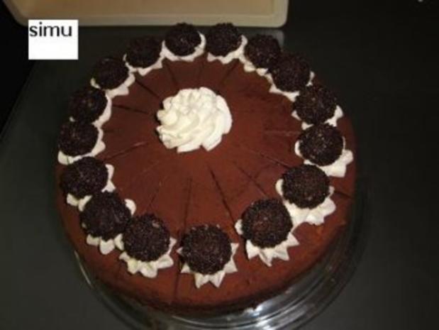 Schokomousse-Torte - Rezept