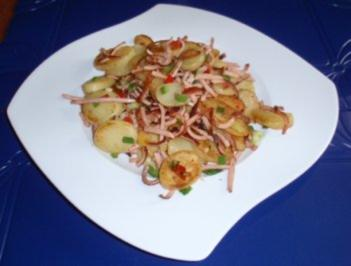 Bratkartoffeln mit Pfiff - Rezept
