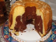 Marmor - Rührteigkuchen - Rezept