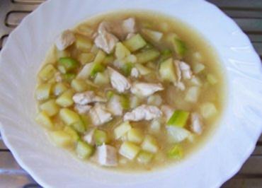Kochen: Geflügel-Zucchini-Kartoffel-Eintopf - Rezept