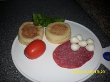 Gefüllte Tosties oder schnelles Abendbrot - Rezept