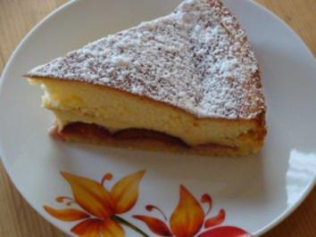 Zwetschgenkuchen mit Eierguss - Rezept