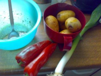 lauwarmer Kartoffelsalat - Rezept