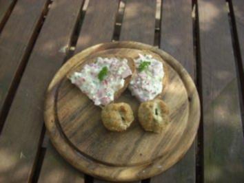 Kleine Mahlzeit: Kanonenkugeln zum Vesperbrot... - Rezept