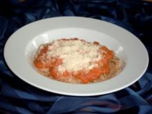 Spaghetti mit Tomatensauce (vegetarisch) - Rezept