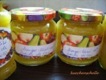 Konfitüre & Co:  Mango- Kiwi mit Batida de Coco - Rezept