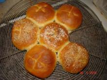 Brot + Brötchen : Frühstücksbrötchen ( Bilder ) - Rezept