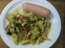 Kartoffelsalat warm - Rezept