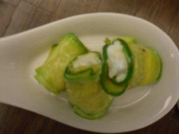 Rezept: Zucchiniroellchen