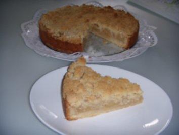 Apfel Streusel Kuchen Rezept Mit Bild Kochbarde