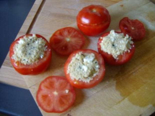 Gefüllte Tomaten mit Couscous - Rezept - Bild Nr. 5