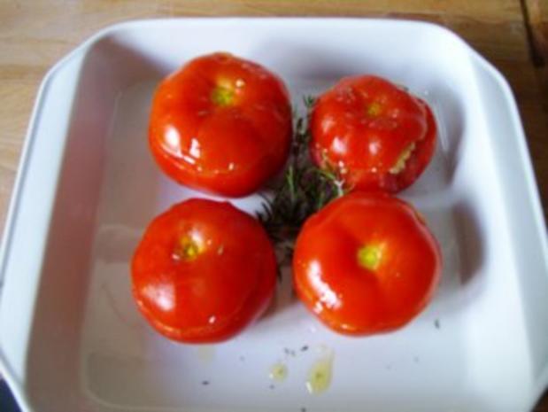 Gefüllte Tomaten mit Couscous - Rezept - Bild Nr. 6