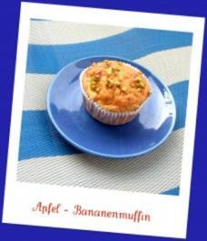 Apfel - Bananenmuffin - Rezept