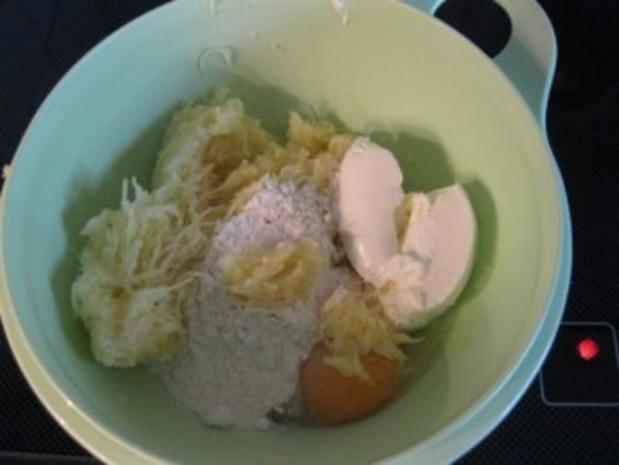 ♥  Kartoffelpuffer mit Spargel-Lachs-Ragout  ♥  Bilder sind ON ! - Rezept - Bild Nr. 4