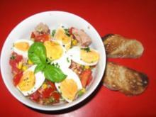 Tomaten - Thunfisch - Salat - Rezept