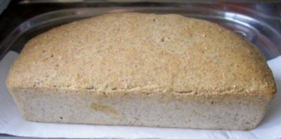 Backen: Weizenbrot mit Vollkorn - Rezept