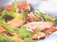 Kalte Entenbrust mit Balsamico Vinaigrette - Rezept