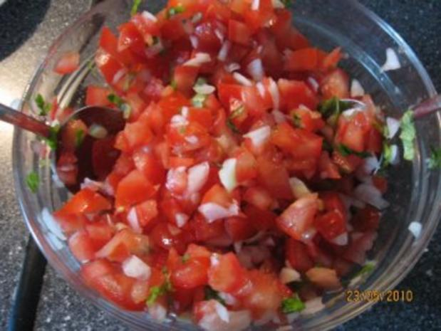 Bruschetta mit Tomaten - Rezept - Bild Nr. 10