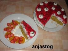 Erdbeeren - Holunder Torte - Rezept