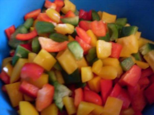 Paprika-Pfanne mit Steakstreifen - Rezept - Bild Nr. 3