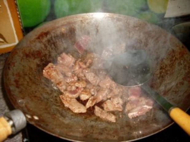 Paprika-Pfanne mit Steakstreifen - Rezept - Bild Nr. 5