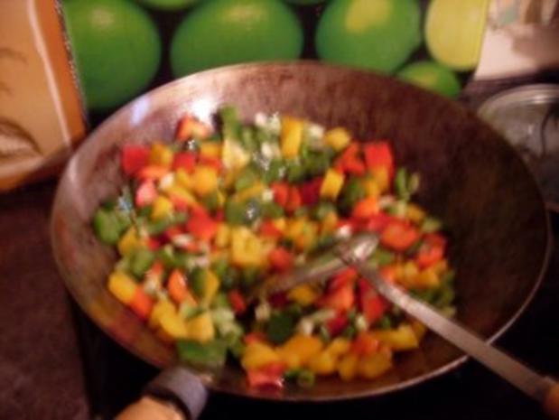 Paprika-Pfanne mit Steakstreifen - Rezept - Bild Nr. 6