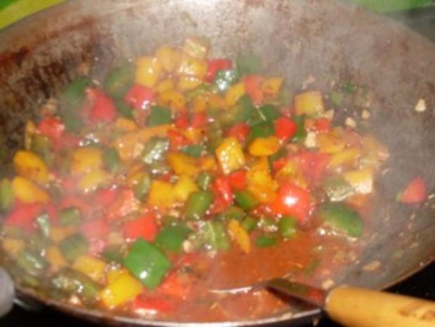 Paprika-Pfanne mit Steakstreifen - Rezept - Bild Nr. 7