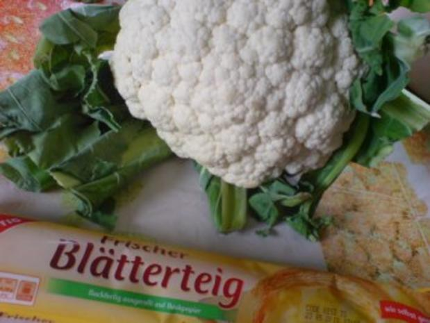 Blumenkohl-Körbchen - Rezept - Bild Nr. 3