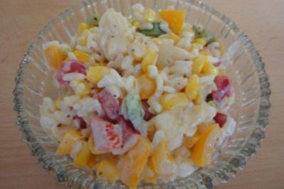 Rezept: Fruchtiger Reissalat