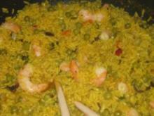 Curryreis mit Schrimps - Rezept