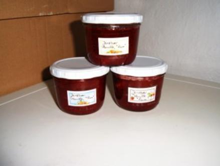 Erdbeer- Vanille- Rum- Marmelade - Rezept