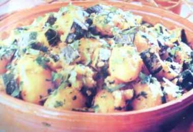 Kartoffeln in Grüner Sauce - Rezept