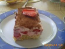Dessert: Erdbeer-Himbeer-Tiramisu - Fotos sind on - Rezept
