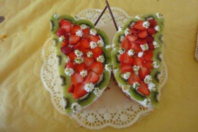 5 Schmetterlingstorte Rezepte Kochbar De