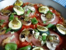 Couscous-Pizza - Rezept