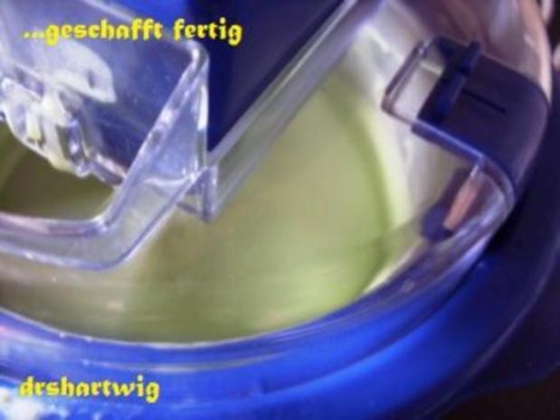 Eisspeise~Waldmeister - Rezept