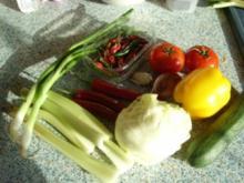 "Salat a la ""Was gibt der Kühlschrank her"" mit Lammfilet - Rezept"