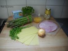 Spargel-Cannelloni - Rezept