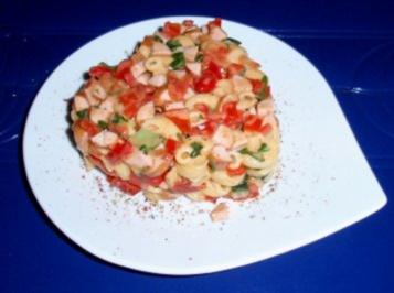 Herziger Nudel-Gemüse-Spaß - Rezept