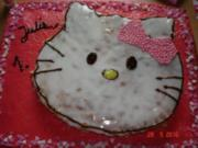 Hello Kitty Geburtstagskuchen - Rezept