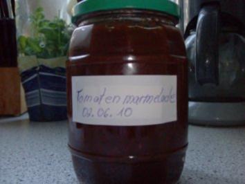 Tomaten-Marmelade - Rezept