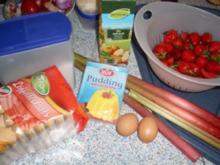 Rhabarber-Erdbeer-Auflauf - Rezept