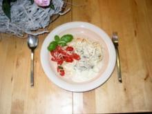 Champignon-Käsesauce mit  vielen Kräutern - Rezept