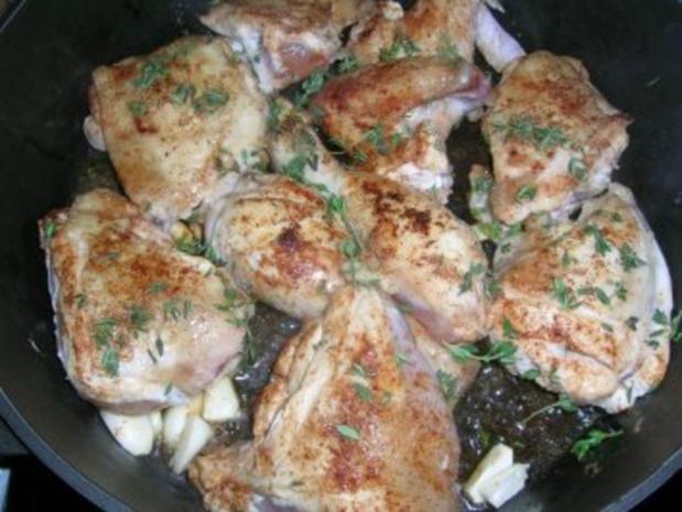 Huhn in Wermutsahne (Pollo alla panna) es schmeckt einfach genial und lecker - Rezept - Bild Nr. 5
