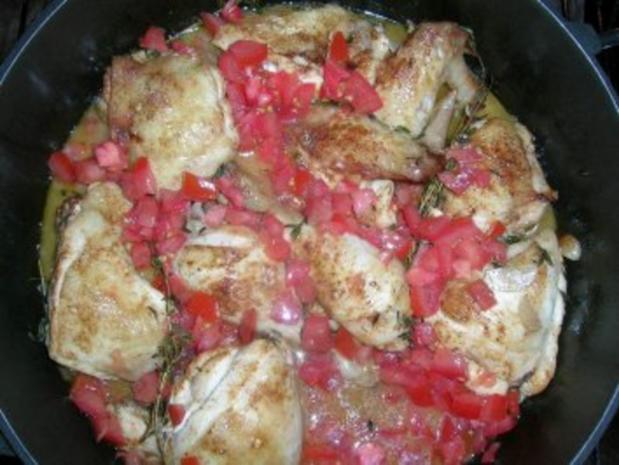 Huhn in Wermutsahne (Pollo alla panna) es schmeckt einfach genial und lecker - Rezept - Bild Nr. 6