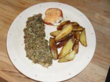 Fischfilet mit Kräuterkruste - Rezept