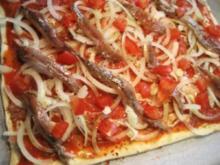 Pizza - (ein Jeder macht sie anders) ... - Rezept