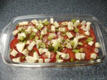 Tomatensalat mit Mozarella - Rezept